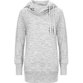 super.natural W's Essential Tunnel Hoodie Ash Melange